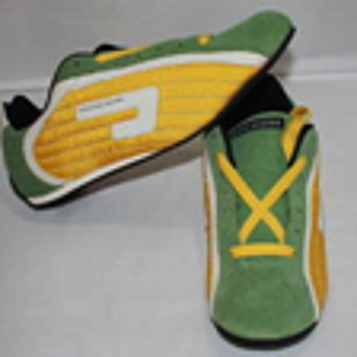 Drummer Shoes Green and Yellow Size 40 EU 5 UK Montenegro Series