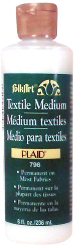 FolkArt Medium (8-Ounce), 796 Textile -