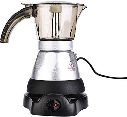 ZHDWM Coffee 220V 3 6 Superior Cafetera Moka Percolador Filtro De ...