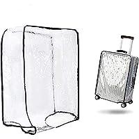 "1PCS Luggage Cover Suitcase Cover Transparent Protectors Case for 20""24""28""30"" (XX-Large, Transparent)"