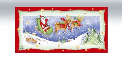 (Pinnacle Peak Trading Company Santa Sleigh Christmas Journey Advent Calendar )
