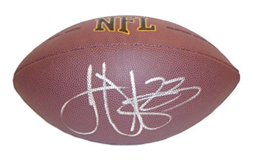 Philadelphia Eagles Troy Vincent Autographed Hand Signed NFL Wilson Football with Proof Photo of Signing, Buffalo Bills, Miami Dolphins, Washington Redskins, University of Wisconsin Badgers, COA