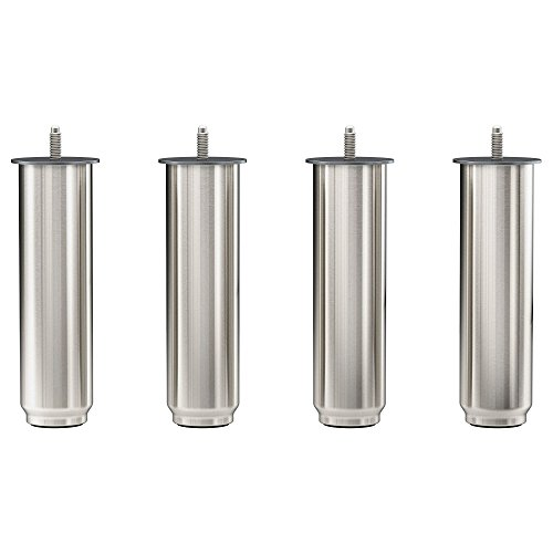 "IKEA NORSBORG 7 1/8"" FURNITURE SOFA LEGS 