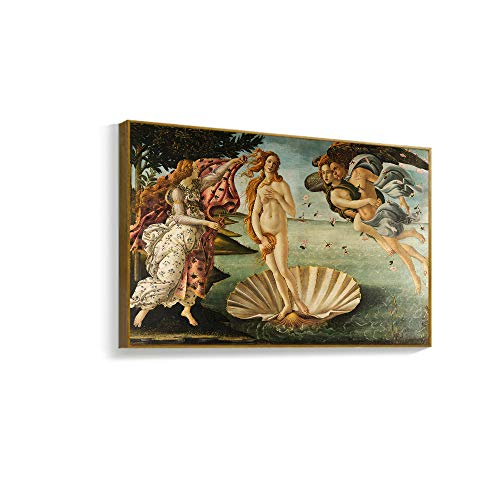 NWT Framed Canvas Wall Art for Living Room, Bedroom The Birth of Venus Canvas Prints for Home Decoration Ready to Hanging - 24
