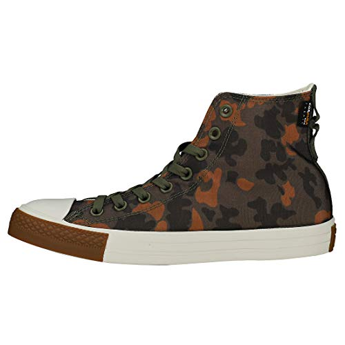 Converse de Hi Brown Zapatillas 322 CTAS Egret Field Deporte Multicolor Unisex Adulto Surplus Field rarqgw