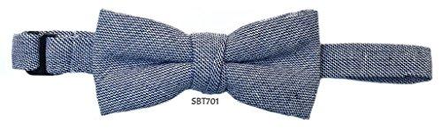 Isaac Mizrahi SPBT-701 Boy's linen Bowtie by Isaac Mizrahi