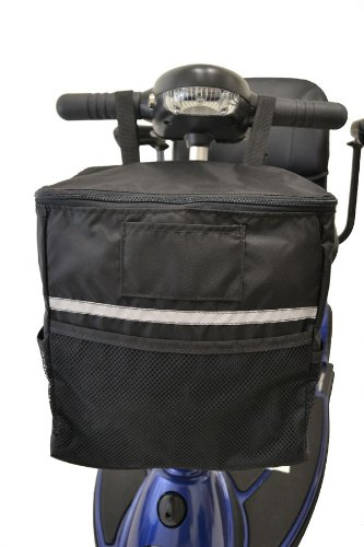 Diestco Soft Scooter Tiller Basket B4231 for most Mobility Scooters