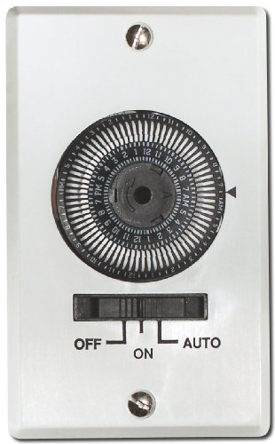 Air King AKT724H Electromechanical Switch, White Finish ()