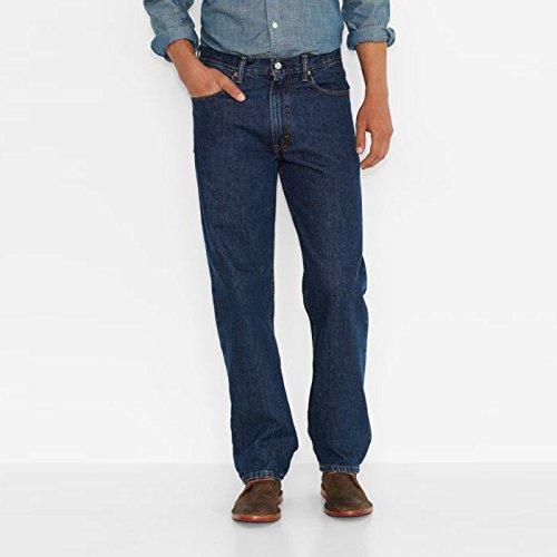 axed Fit Jeans Dark Stonewash 36x31 ()