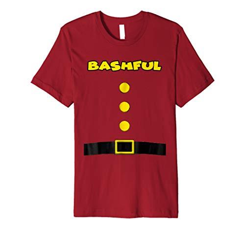 Bashful Dwarf Halloween Costume Bashful Dwarf Tshirt -