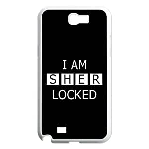 Generic Case Sherlock For Samsung Galaxy Note 2 N7100 887A2W7833