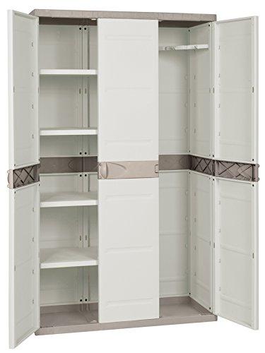 PROFER HOME - Armario Resina 3 Puertas 4 Bal Profer Home 105X44X176
