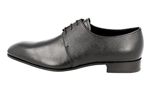 Prada Mens 2EA105 053 F0002 Saffiano Leather Business Shoes jj8axZpO