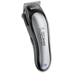 Wahl Lithium Ion Pro Series Cordless Rechargeable Low Noise/Quiet Pet Clipper Hair Cutting Kit from Grooming Dog or Cat fur by The Brand Used By Professionals. #9766