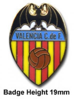 Valencia CF Crest Badge for sale  Delivered anywhere in USA