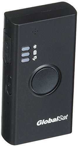 GlobalSat DG-500 Data Logger & Bluetooth GPS Receiver, Black by GlobalSat