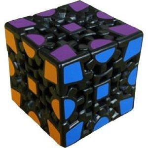 Meffert's Speedcubing Puzzle Gear Cube (Black Body) (Puzzle Gear Cube)