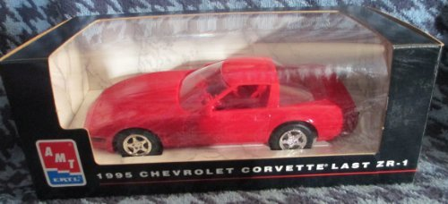 #6993 AMT/Ertl 1995 Chevrolet Corvette Last ZR-1,Red 1/25 Scale Plastic Promo Model,Fully Assembled