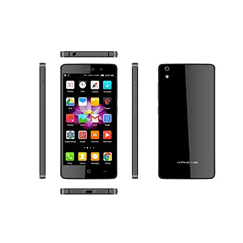 KPhone 4G LTE with 16GB Memory Cell Phone (Unlocked) Black K5