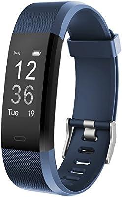 Monitor de Fitness Muzili YG3 Plus Pulsera Actividad Reloj Medidor Deportivo Inteligente Podómetro con monitor de ritmo cardíaco/GPS /Contador de ...