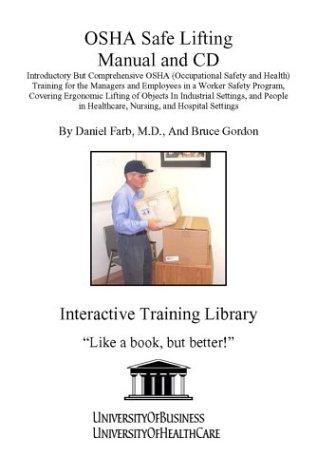 osha safe lifting manual and cd introductory but comprehensive osha rh amazon com Safety Program Examples Iipp Safety Manual