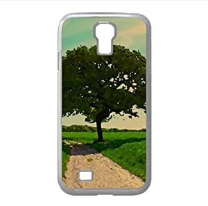 Tree Summer Watercolor style Cover Samsung Galaxy S4 I9500 Case (Summer Watercolor style Cover Samsung Galaxy S4 I9500 Case)
