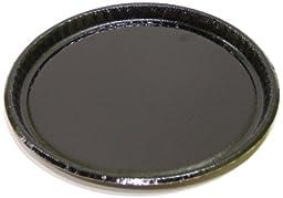 Solut 63655 Black Elegance Corrugated Paperboard Retail Food Serving Platter, 12\