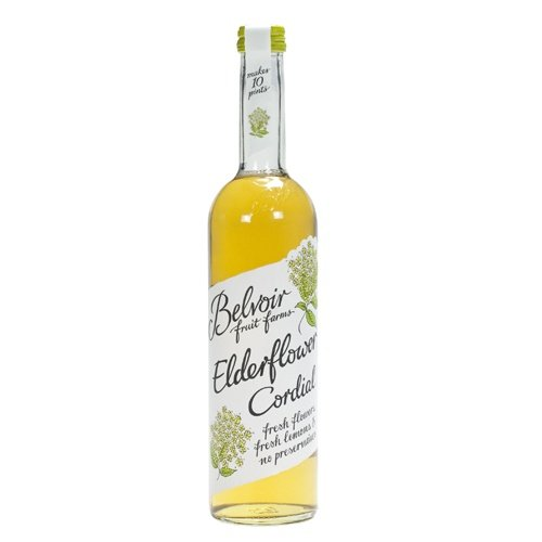 Belvoir Elderflower Cordial. Case of 6x500ml- Fast by Belvoir