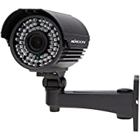 "KKmoon TP-E225iRE 720P Security Camera Waterproof Outdoor CCTV 1/3"" Sony CMOS 72IR LED IR-CUT 2.8~12mm Zoom Varifocal"