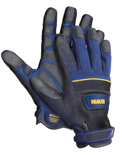IRWIN Tools Heavy-Duty Jobsite Gloves, Extra-Large (432002)