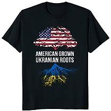 American Grown with Ukranian Roots Shirt - Ukraine Tee