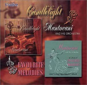 Candlelight-Favourite Melodies. Mantovani & His Orchestra