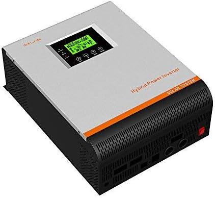 Inversor Onda Pura Multifunción 3000W 24V a 220V 50Amp Cargador 30Amp 3 En 1 3000w Continua Pico 6000w