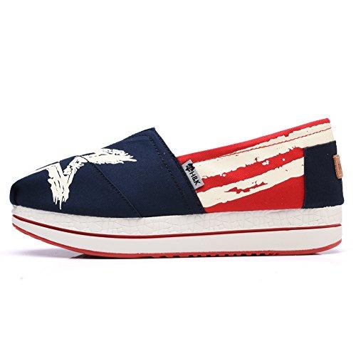 Sneaker 6611 Della Scarpa Da Passeggio Per Calzature Con Tomaia In Tela Da Donna Tiosebon