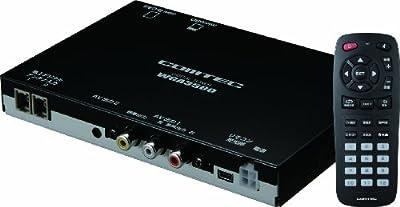 コムテック 2チューナーx2アンテナ車載用地上デジタルチューナー WGA3500