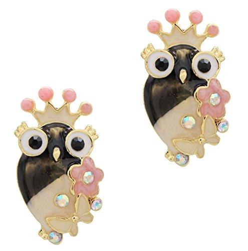 DaisyJewel Mocha Latte Queen Owl