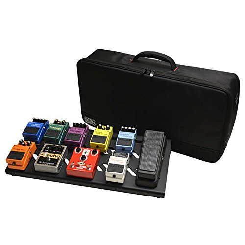 (Gator Cases Aluminum Guitar Pedal Board with Carry Bag; Large: 23.75