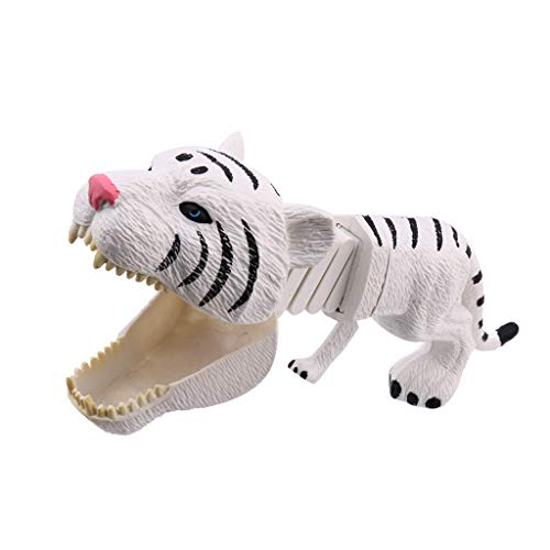 Mayunn Tiger Animal Toy Plastic Play Set Funny Hand Claw Grabber Toys Novelty Funny Toy - Crystal Tigers Plastic