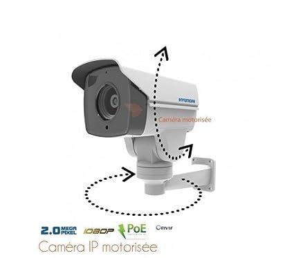 Hyundai – Cámara de vigilancia IP motorizada, zoom 2.8 – 12 mm 2 MP –