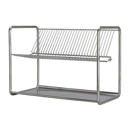 Ordning Di Ikea Scolapiatti Acciaio Inossidabile 50 X 27 X 36 Cm