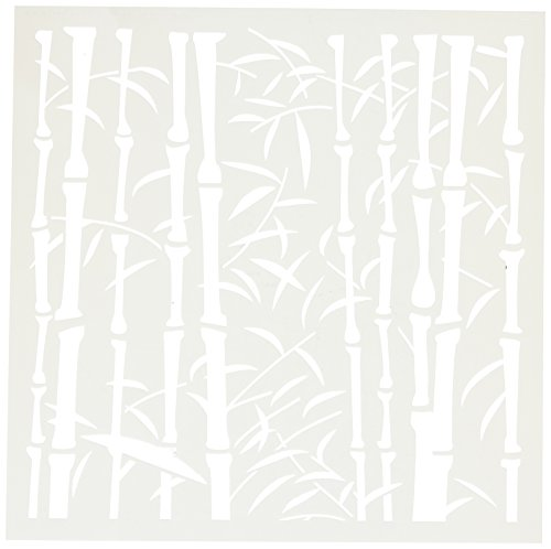 CRAFTERS WORKSHOP Templates - Stencil Bamboo