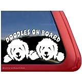 Doodles On Board ~ Vinyl Window Dog Decal Sticker
