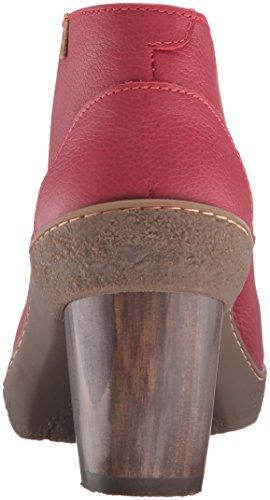 El Naturalista NF74 SOFT GRAIN TIBET/LICHEN, Damen Kurzschaft Stiefel, Rot (TIBET N81), 38 EU (5 Damen UK)