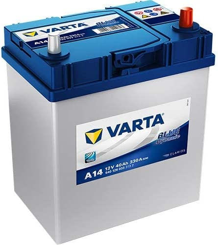 540126033 A14 Varta Blue Dynamic Car Battery 12V 40Ah 054
