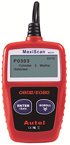Autel MaxiScan MS309 CAN OBD-II Diagnostic Code Scanner (Code Scanner Obd Ii compare prices)