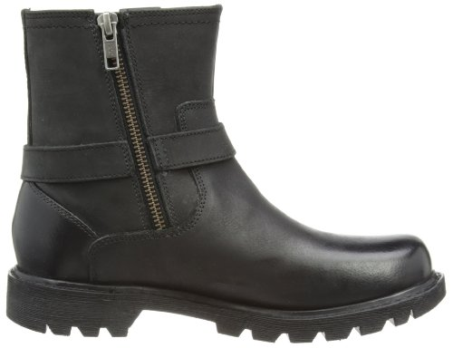 Cat Footwear EVERYDAY BIKER - Botas clásicas de cuero mujer negro - negro