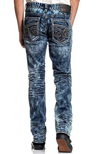 Affliction Gage Fleur Quincy Skinny Leg Fit Fashion Denim Jeans Pants for Men