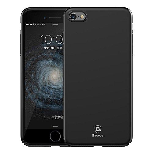 Phone Taschen & Schalen für iPhone 6 Plus & 6s Plus PC ultradünner Schlag-Schutz-Abdeckungs-Fall ( Color : Black )