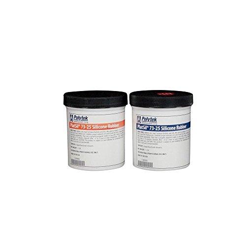 Polytek PlatSil73-25 Platinum Silicone Rubber (2lb Kit)