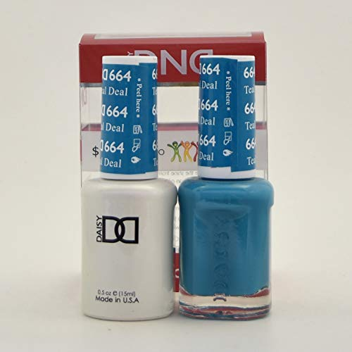 (DND *Duo Gel* (Gel & Matching Polish) (664 Teal Deal))